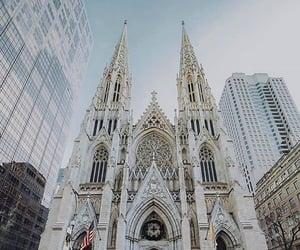new york, new york architecture, and st patrick's image
