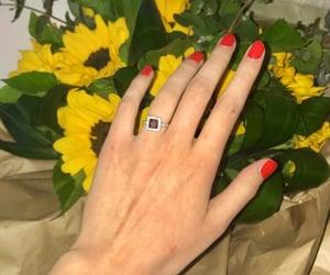 bouquet, nailpolish, and nails image