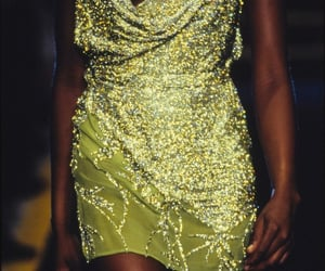 1997, mini dress, and model image