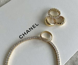 chanel, diamond, and jewelry image