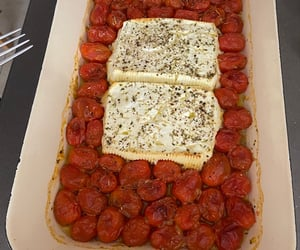 cooking, tomato, and cheese image