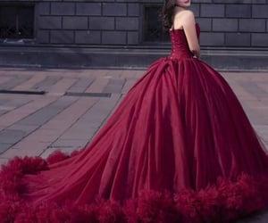 cheap prom dresses, princess prom dress, and vestido de graduación image