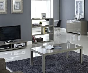 tv stand set, tv table set, and tv cabinet for 75-inch tv image