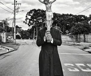 catholicism, cross, and crucifix image