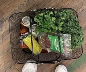 cilantro, drink, and market image