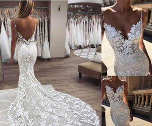 bridal gowns, mermaid wedding dresses, and wedding dresses image