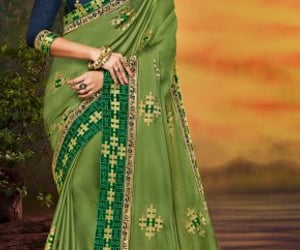 party wear sarees and best party wear sarees image