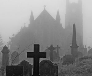 black, aesthetic, and grave image