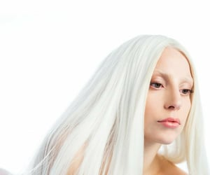 guy, Lady gaga, and white image