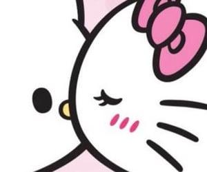 header and hello kitty image