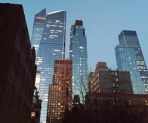 skyline, travel, and usa image