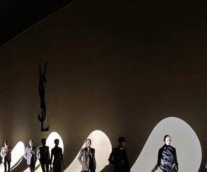 aesthetic, black, and catwalk image