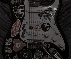 aesthetic, guitar, and theme image