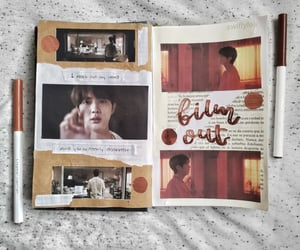 aesthetic, journaling, and music image