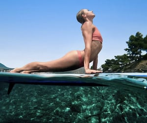 beautiful, pose, and surf image