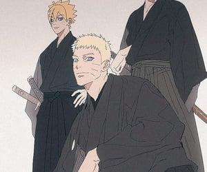 naruto, uzumaki, and konoha image