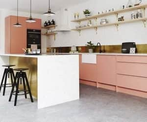 class, color, and kitchen image