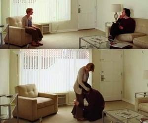cinema, couple, and Scarlett Johansson image