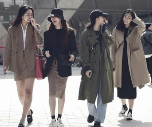 casual, korean, and social image