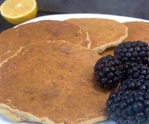 breakfast, pancakes, and glutenfree image