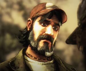 game, telltale, and kenny image