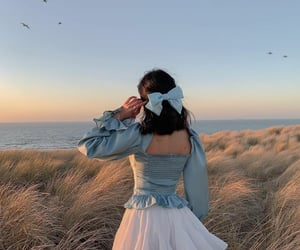blue, beach, and beauty image