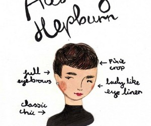 audrey hepburn, style, and art image
