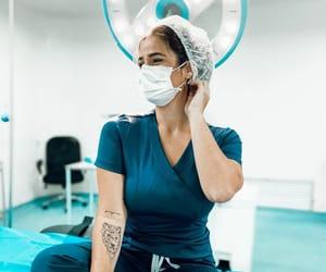anatomy, doctor, and girl image