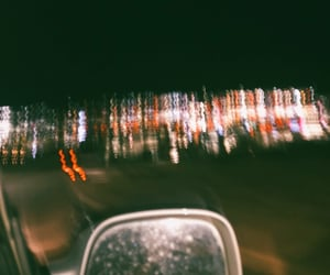 aesthetic, blurry, and car image