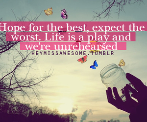 quote, girl, and hope image