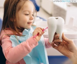 pediatric dentistry, dentistry for children, and united dental clinic image
