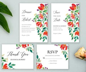 save the date, rsvp card, and etsy invitation image