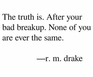 break up and quotes image