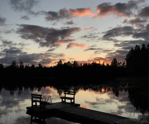 finland, lake, and summer image