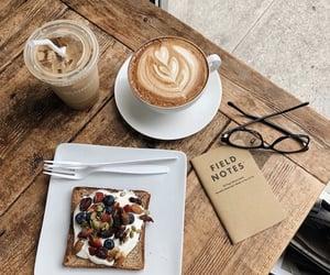 breakfast, yummy, and coffee image