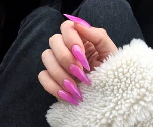 beauty, french, and manicure image