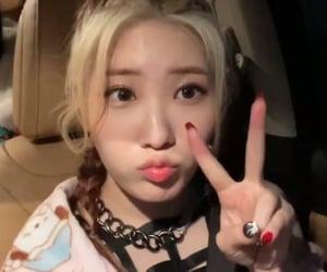 lq, kpop girl, and purple kiss image