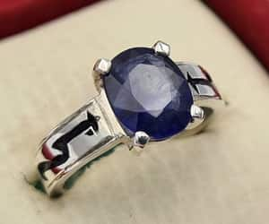 etsy, womens sapphire ring, and halloween gift' image