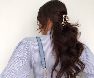 hairstyle goal, fashion, and inspiration image