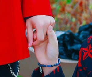 wow, Chan, and holding hands image