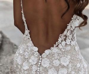 dress, future, and wedding image