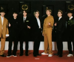 grammys, jin, and jungkook image