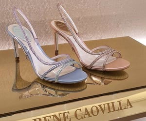 heels, sparkle, and womenswear image