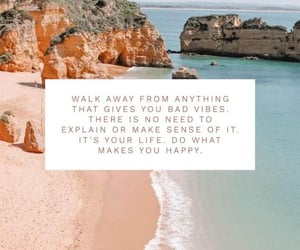 beach, quote, and sayings image