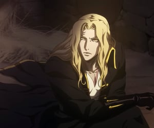 anime, castlevania, and game image
