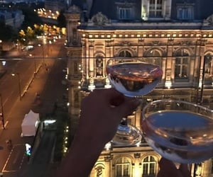 drink, city, and night image