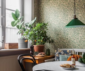 aesthetic, decor, and green image