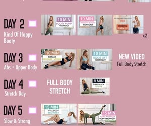 fitness, gym, and workout plan image