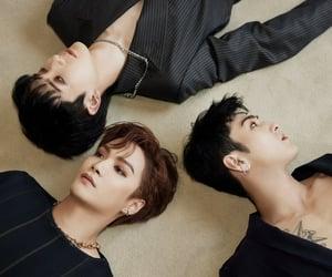Jonghyun, aron kwak, and kwak youngmin image