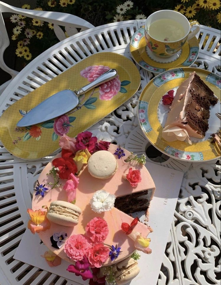cake and spring image